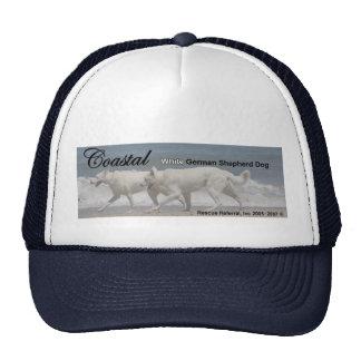 Délivrance blanche de berger allemand casquettes
