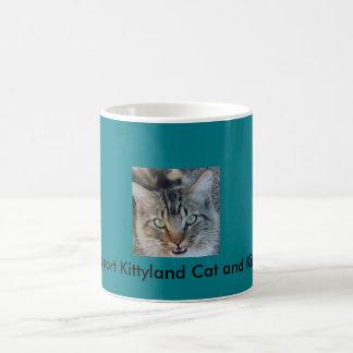 Délivrance de chat de tasse