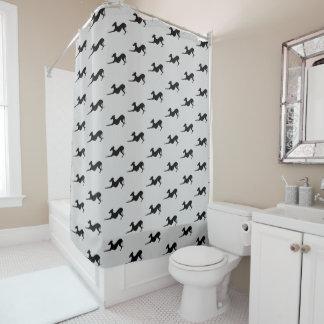 Délivrance de rideau en douche de salle de bains