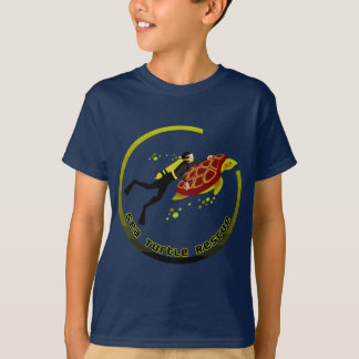 Délivrance de tortue de mer t-shirt