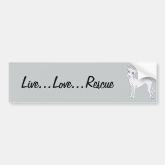 … Délivrance vivante d'amour… Autocollant De Voiture