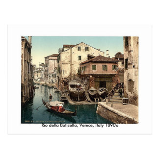 Della Botisella, 1890's de Rio de Venise, Italie Cartes Postales
