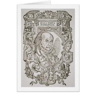 Della Porta (1535-1615) de Giovanni Battista du si Carte De Vœux