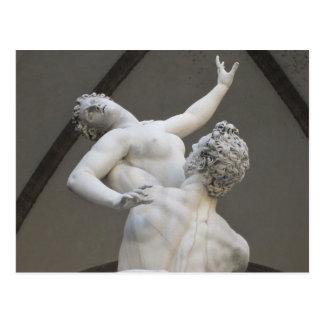Della Signoria, carte postale de Piazza de Florenc