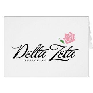 Delta Zeta - enrichissant Carte De Vœux