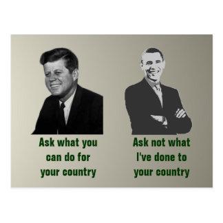 Demander-Demandez pas la carte postale