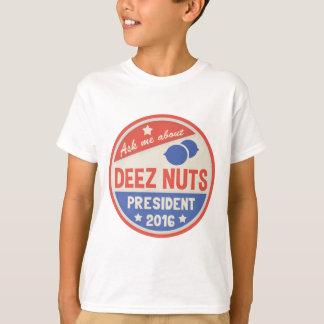 Demandez les écrous de Deez T-shirt