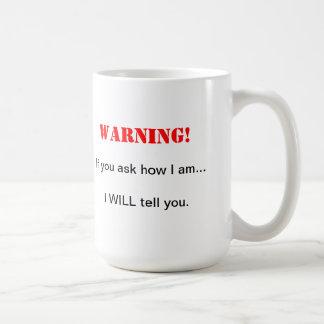 Demandez-moi d'attaquer mug