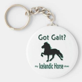 Démarche obtenue ? Mon cheval islandais fait Porte-clé