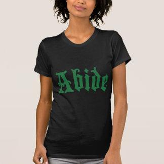Demeurez (l'edtion vert) t-shirt