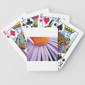 demi d'art de fleur jeu de cartes
