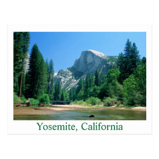 Demi de copie du dôme 20x30, Yosemite, la Carte Postale
