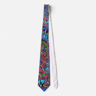 Demi de cravate psychédélique de baisse