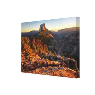 Demi de dôme au coucher du soleil - Yosemite Toile