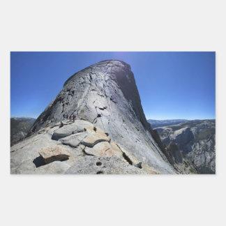Demi de dôme de la base des câbles - Yosemite Sticker Rectangulaire
