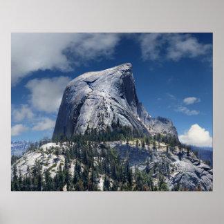 Demi de dôme du nord - Yosemite Poster