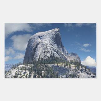 Demi de dôme du nord - Yosemite Sticker Rectangulaire