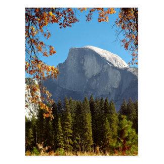 Demi de dôme en automne - parc national de carte postale