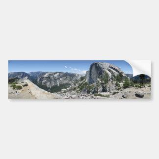 Demi de dôme et de vallée de Yosemite - Yosemite Autocollant Pour Voiture