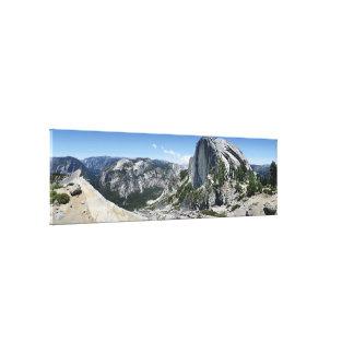 Demi de dôme et de vallée de Yosemite - Yosemite Toile