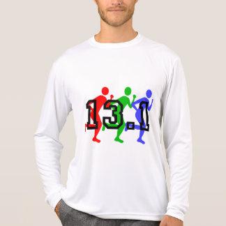Demi de fonctionnement de marathon t-shirt