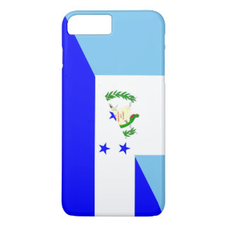 demi de symbole de drapeau du Guatemala Honduras Coque iPhone 7 Plus