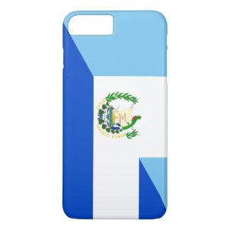 demi de symbole de pays de drapeau du Guatemala Coque iPhone 7 Plus