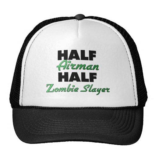 Demi de tueur de zombi de demi d'aviateur casquette