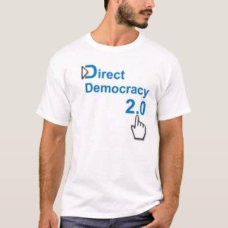 Démocratie directe 2,0 t-shirt