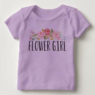 Demoiselle d'honneur de la pièce en t | de bébé de t-shirt pour bébé