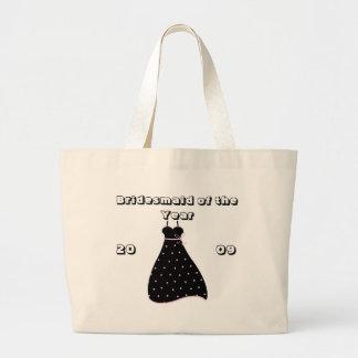 Demoiselle d'honneur des cadeaux nuptiales de part sacs en toile