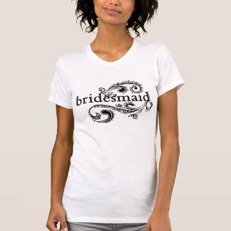 Demoiselle d'honneur élégante t-shirts