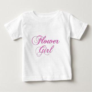 Demoiselle d'honneur t-shirt pour bébé