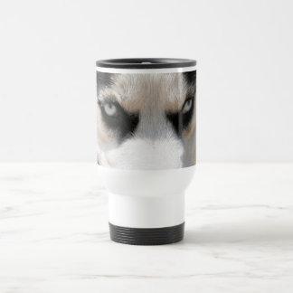 Démon 4 de chien de traîneau sibérien mug de voyage
