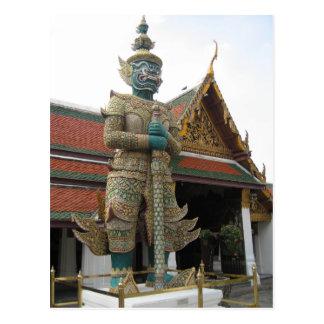 Démon de géant de Thotkhirithon Carte Postale