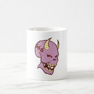 Démon demon tête de mort crâne skull tasses à café