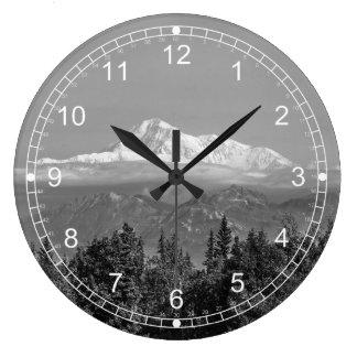 Denali (le mont McKinley) Grande Horloge Ronde