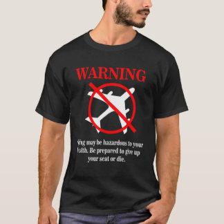 Déni de responsabilité drôle de message t-shirt