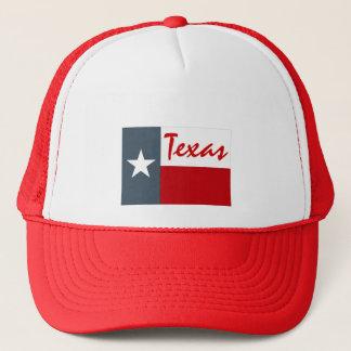 Denim rouge le Texas blanc de casquette l'état
