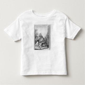 Denis Diderot et Melchior, baron de Grimm T-shirt Pour Les Tous Petits