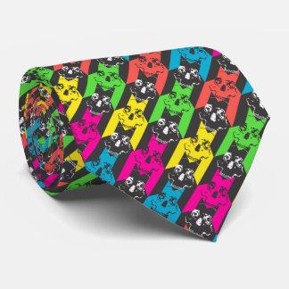 dent de chiens de la cravate morte