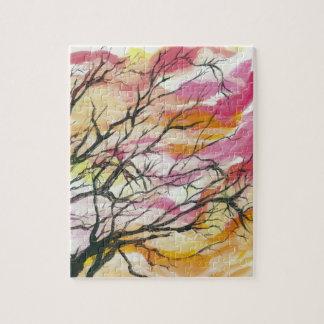 """Dentelez par les arbres 8"""" x 10"""" puzzle de"""