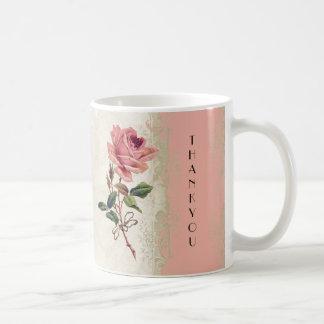 Dentelle crème rose du saumon n de cru baroque de mug