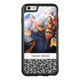 Dentelle faite sur commande de photo et de textes coque OtterBox iPhone 6 et 6s plus