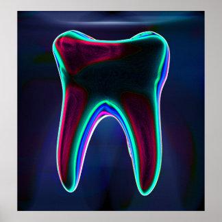 Dentiste - affiche d'orthodontiste