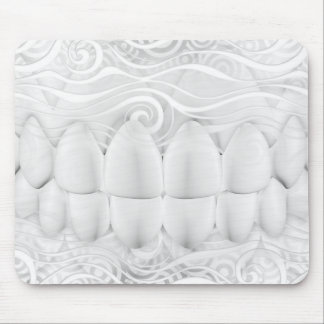 Dentiste blanc parfait Mousepad de sourire de Tapis De Souris