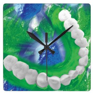 Dentiste - horloge murale d'orthodontiste