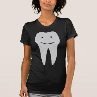 dents de sourire de dentiste de dent t-shirt