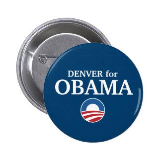 DENVER pour la coutume d'Obama votre ville personn Pin's