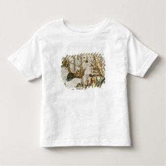 Départ à Lisbonne pour le Brésil T-shirt Pour Les Tous Petits